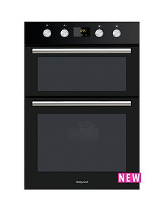 hotpoint-dd2844cbl-60cm-electric-built-in-double-oven
