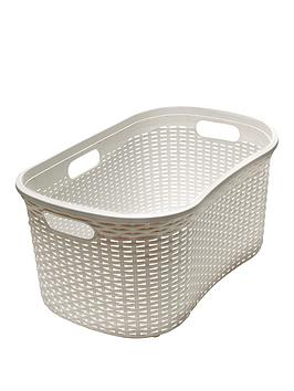 Addis Faux Rattan 40-Litre Hipster Laundry Basket Review thumbnail