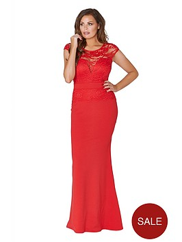 jessica-wright-lace-top-maxi-dress-red
