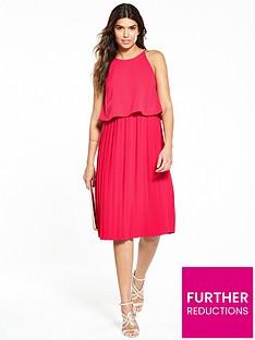 v-by-very-pleated-midi-dress