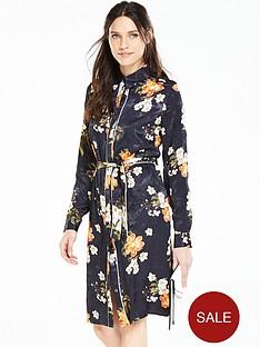 v-by-very-floral-jacquardnbspprint-shirt-dress