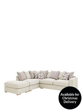 sarinanbspleft-hand-fabric-corner-chaise-with-footstool