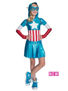 captain-america-hoodie-dress