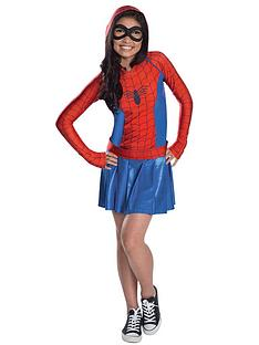 spider-girl-hoodie-dress