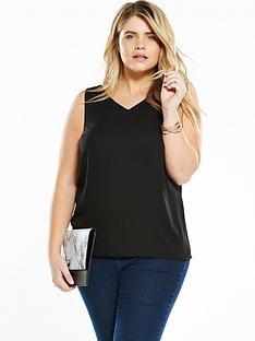 so-fabulous-woven-cami-top-black