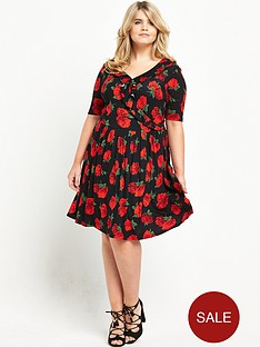 v-by-very-curve-curve-ruffle-front-jersey-wrap-dress