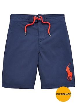 ralph-lauren-big-pony-boys-swim-shorts-ndash-navy