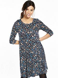 v-by-very-elbow-sleeve-swing-dress