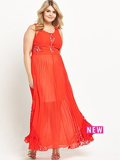 so-fabulous-pleat-and-lace-maxi-dress