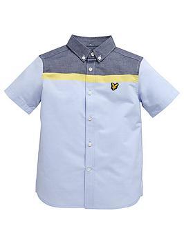 lyle-scott-ss-colour-block-shirt