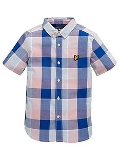 lyle-scott-ss-check-shirt