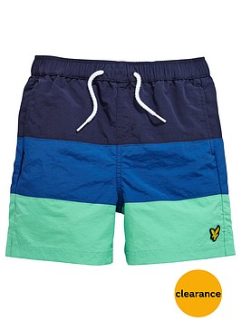 lyle-scott-colourblock-swimshort