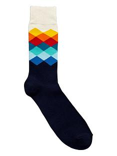 happy-socks-faded-diamond-sock