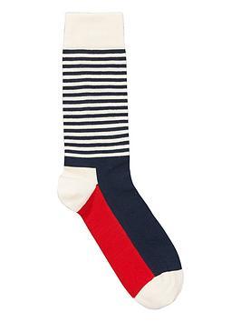 happy-socks-half-stripe-socks
