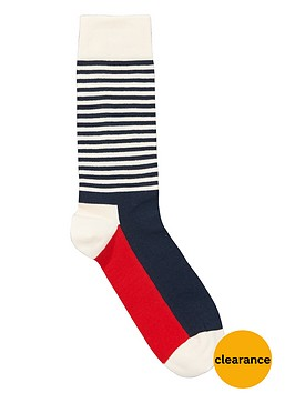 happy-socks-half-stripe-socks