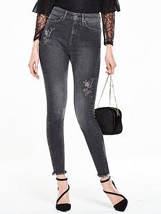 v-by-very-ella-flower-embroidered-skinny-jean