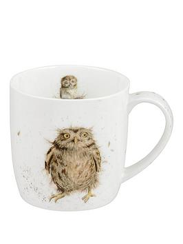 portmeirion-wrendale-what-a-hoot-mug-owl-by-royal-worcester-single-mug