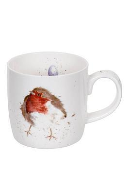 portmeirion-wrendale-garden-friend-mug-robin-by-royal-worcester-single-mug
