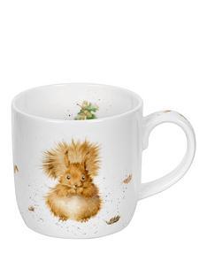 portmeirion-wrendale-treetops-redhead-mugsquirrel-by-royal-worcester-single-mug