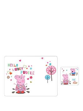 portmeirion-peppa-pig-placemat-and-coaster-set