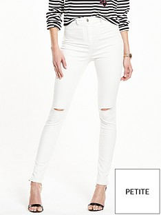 v-by-very-petite-addison-slash-knee-high-waistednbspskinny-jean-white