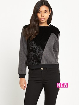 glamorous-glamorous-faux-suede-patch-jumper