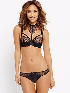 myleene-klass-wet-look-embroidered-bra-with-detachable-collar