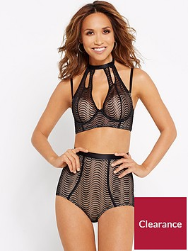 myleene-klass-wave-embroidered-high-neck-longline-bra
