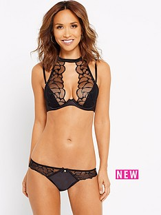myleene-klass-wet-look-high-neck-bra