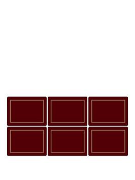 pimpernel-set-of-6-classic-burgundy-placemats
