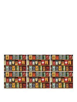 pimpernel-vintage-tins-placemats-set-of-6