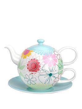 portmeirion-crazy-daisy-tea-for-one-with-saucer-set