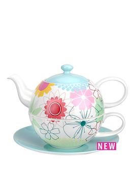 portmeirion-crazy-daisy-tea-for-one-with-saucer