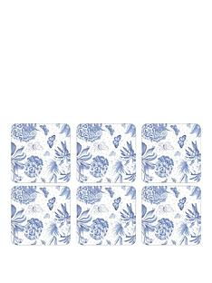 pimpernel-set-of-6-botanic-blue-coasters