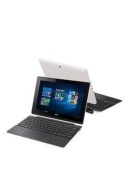 acer-switch-10e-intelreg-atomtrade-quad-core-processor-2gb-ram-32gb-emmc-storage-101-inch-touchscreen-2-in-1-laptop-includingnbspmicrosoft-office-mobile-ndash-white