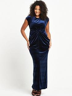 lost-ink-curve-lost-ink-curve-drape-maxi-dress-in-velvet