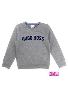 boss-crew-neck-logo-sweat-top