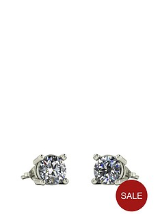 moissanite-9ct-white-gold-1ctnbsptotalnbspequivalentnbsp5mm-earrings