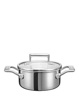 kitchenaid-3-ply-stainless-steel-cookware-collection-ndash-16cm-saucepot