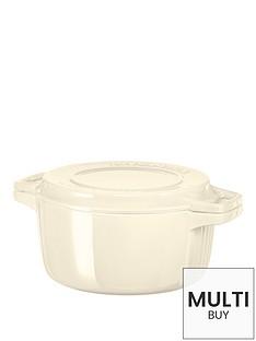 kitchenaid-professional-series-24cm-round-cast-iron-casserole-pot-cream