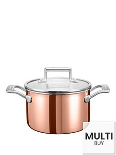 kitchenaid-3-ply-copper-cookware-collection-ndash-28-litre-saucepot