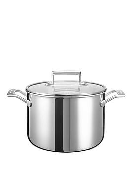 kitchenaid-stainless-steel-cookware-collection-ndash-75-litre-stockpot-with-lid