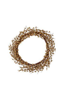 gisela-graham-gold-berry-wreath