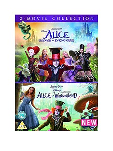 alice-through-the-looking-glassalice-in-wonderland-double-pack