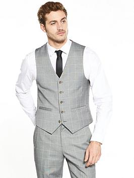 v-by-very-slim-fit-window-pane-check-suit-waistcoat