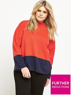 v-by-very-curve-colour-block-knit-jumper-navyorange