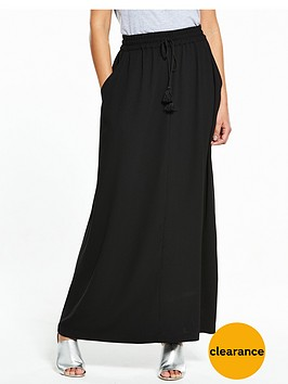 v-by-very-tassel-crepe-maxi-skirt