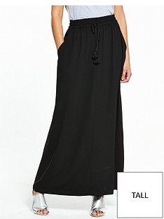 v-by-very-tall-tassel-crepe-maxi-skirt-blacknbsp