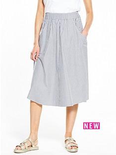 v-by-very-stripe-cotton-midi-skirt