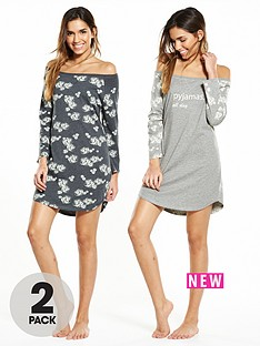 v-by-very-2-pack-floral-all-day-nightshirtnbsp